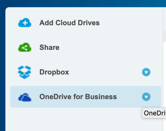MultiCloud, browse an account