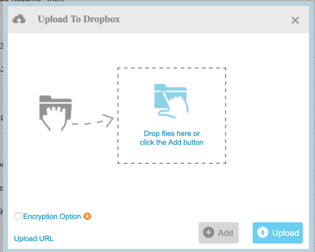 MultiCloud, upload local files
